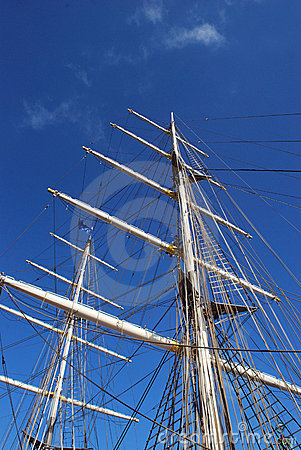 Sail ship without sails
