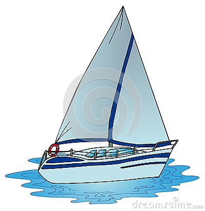 Sail on water