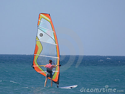 Sailboard sportsman