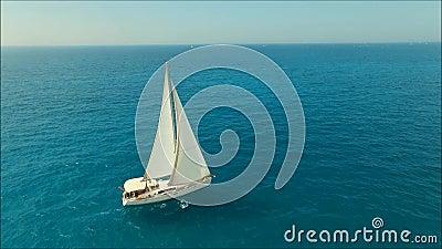 Sailboat απόθεμα βίντεο