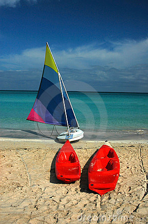 Free Sailboat & Kayaks Stock Photography - 88362