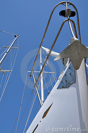 Sailboat prow