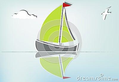 Sailboat serene_Ib