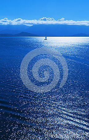 Sailboat Blue Ocean