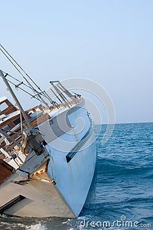 Sailboat Shipwreck