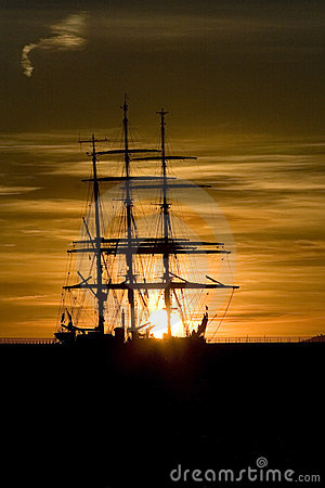 sailboat  sillouette