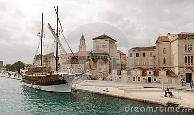 Sailboat. Trogir