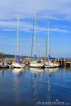 Free Sailboats At Rest Royalty Free Stock Photo - 1097185