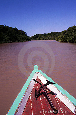 Sailing in the Amazon river