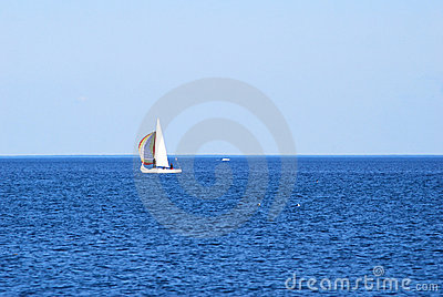 Sailing On Big Water