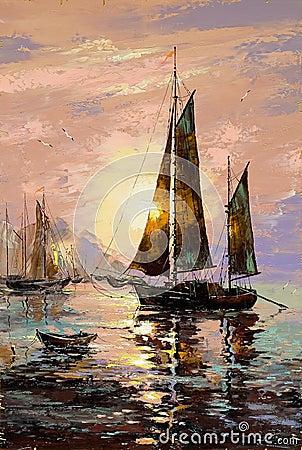 Free Sailing Boat Royalty Free Stock Photos - 6018098
