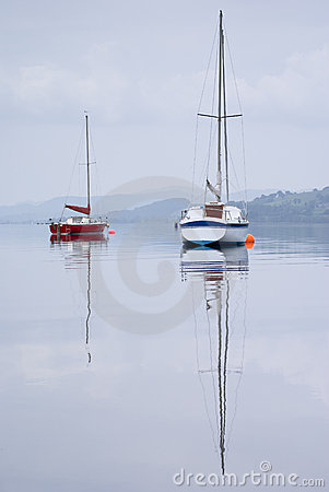 Sailing Boat on Bala Lake