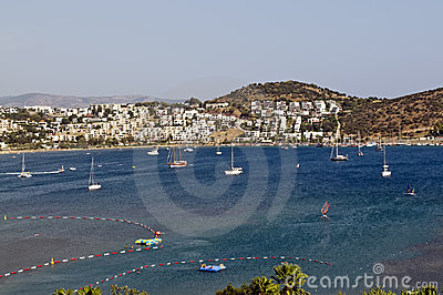 Sailing boat in Bodrum