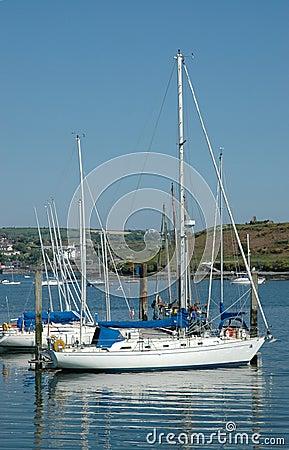 Sailing Boat in Kinsale Harbour, Cork
