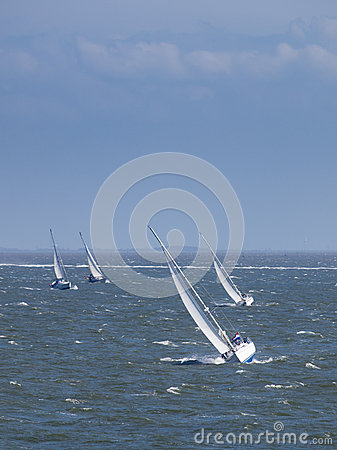 Sailing boat race