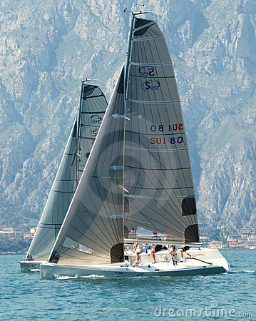 Sailing Class esse 8.50 Editorial Stock Image
