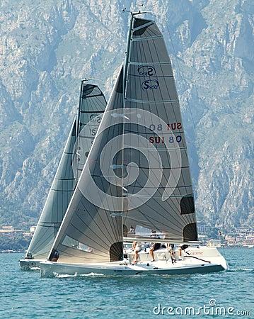 Sailing Class esse 8.50 Editorial Stock Image