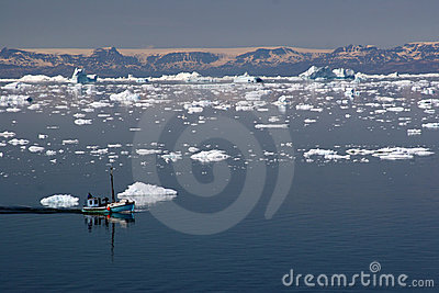 Sailing in the Disco Bay, Ilulissat