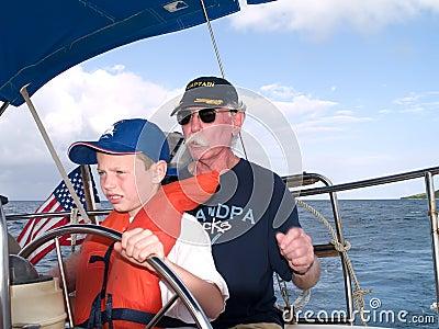 Sailing With Grandpa