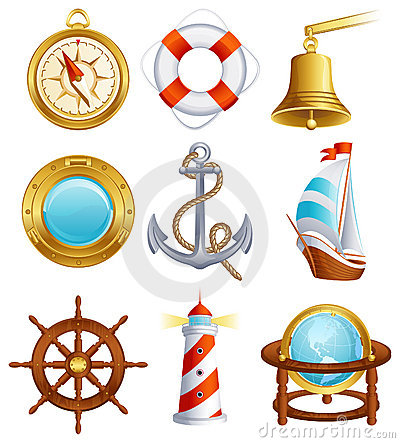 Free Sailing Icon Royalty Free Stock Images - 8957049