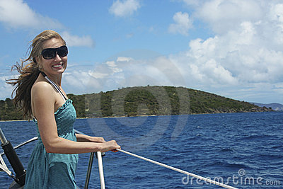 Sailing in the Islands