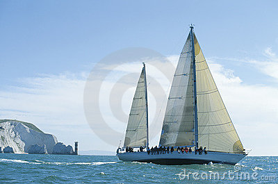 Sailing by the Needles