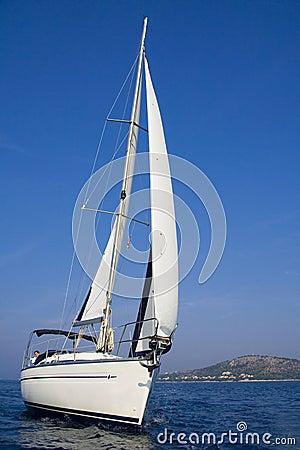 Free Sailing On The Adriatic Sea Royalty Free Stock Photos - 11639638