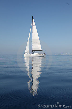 Free Sailing On The Adriatic Sea Royalty Free Stock Photography - 13624407