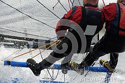 Sailing pair 01