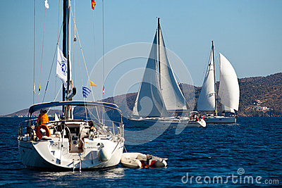 Sailing regatta Viva Greece 2012 Editorial Image