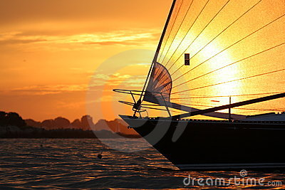 Sailing in Salem Sound