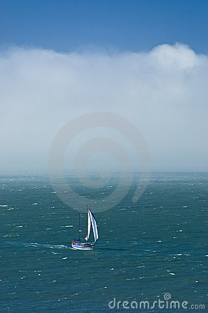 Sailing on San Francisco Bay