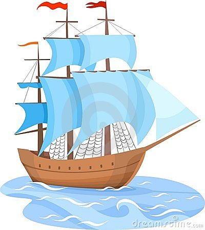 Free Sailing Ship Royalty Free Stock Image - 13465196
