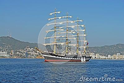 The sailing ship