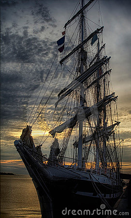 Free Sailing Ship Stock Photo - 5893540