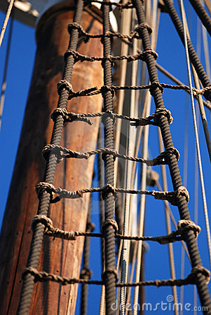 Sailing ship detail
