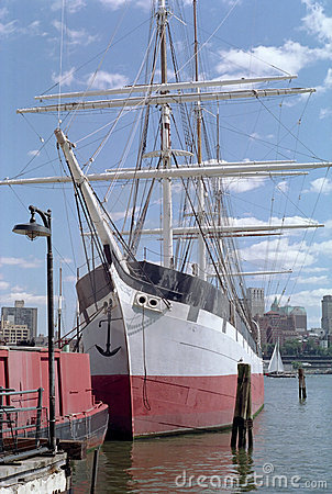 The Sailing Ship Wavertree New York USA