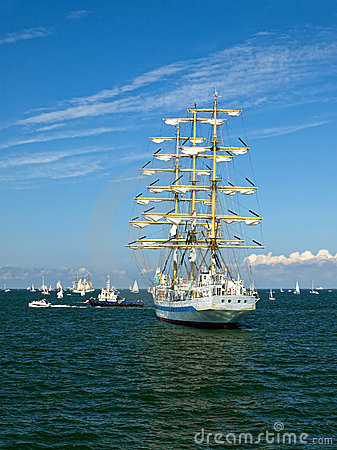 Sailing ships in the Baltic
