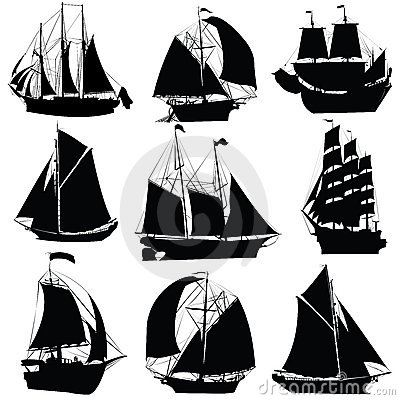 Sailing ships collection