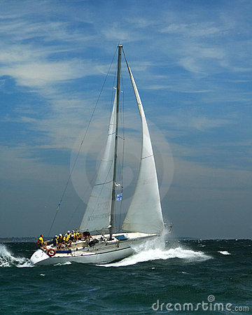 Free Sailing Sports For The Present Men Stock Image - 1006631