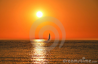 Sailing Into the Sun