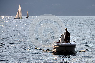 Sailing before sunset