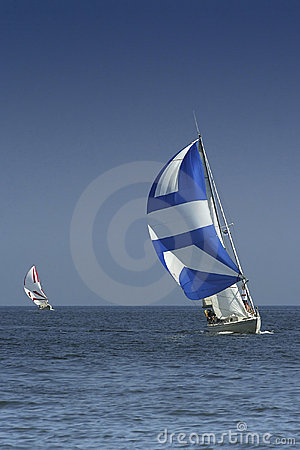 Free Sailing. The Winner And Losed Royalty Free Stock Images - 1312439