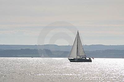 Sailing on tranquil waters
