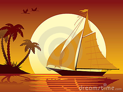 Sailing vacation