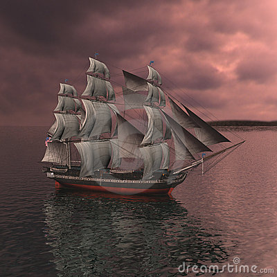 Free Sailing Vessel Royalty Free Stock Photo - 12034885