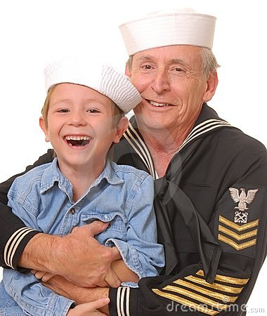 Free Sailor And Son 3 Stock Photography - 1517782