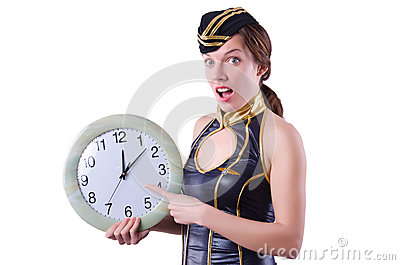 Sailor with clock