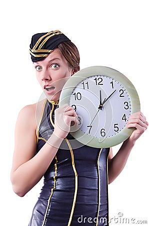 Sailor with clock