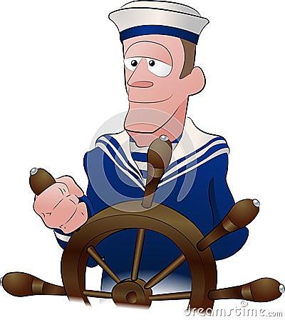 Free Sailor Illustration Royalty Free Stock Photography - 3624877